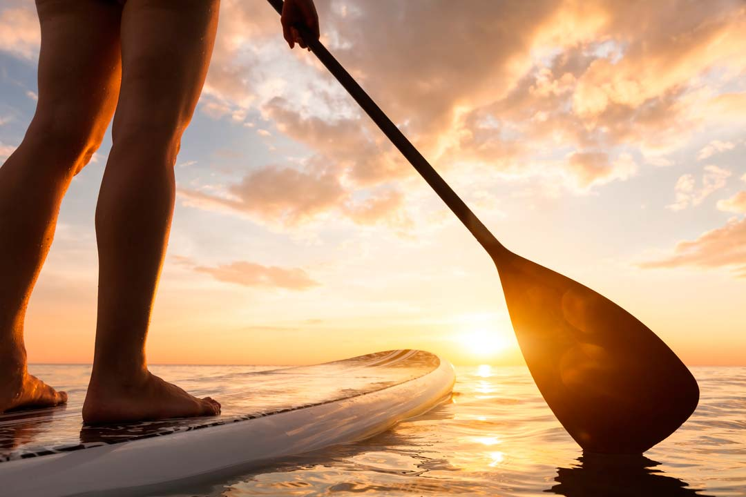 Stand Up Paddle in der Po Delta